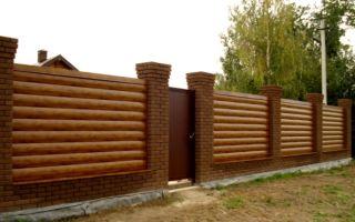 Делаем забор из сайдинга