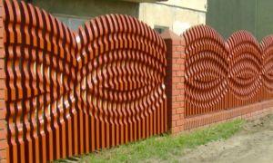 Монтаж и отделка деревянного штакетника