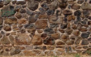 Как сделать забор из камня?