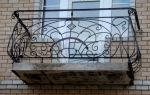 Виды и монтаж ограждений для балкона из металла