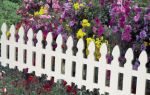 Дизайн и обустройство декоративного заборчика для сада