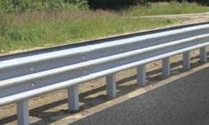 Установка дорожного ограждения