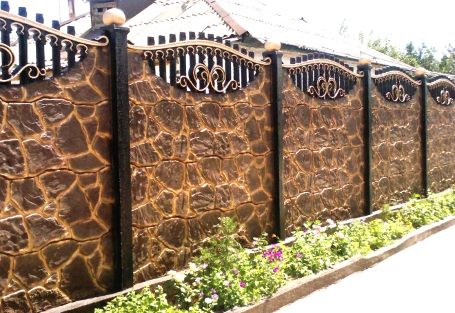 краски для бетонных заборов